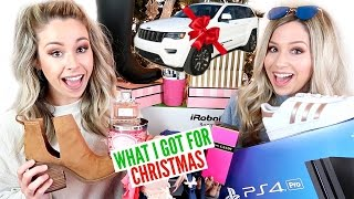 WHAT I GOT FOR CHRISTMAS 2016 + NEW CAR!!