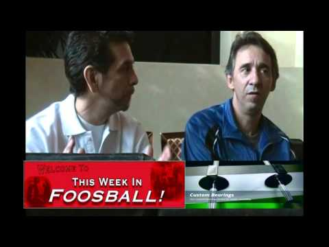 Interview with World Foosball Champion Todd Loffredo part 2 of 3