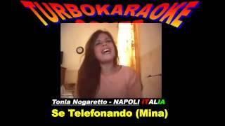 Se Telefonando Mina Cover by Tonia)