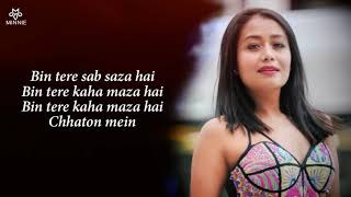 Yaad Piya Ki Aane Lagi Full Song With Lyrics Neha Kakkar | Divya Khosla Kumar | Faisu,Jaani,Tanishk