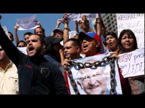 Venezuela charges Caracas mayor Ledezma over 'conspiracy'