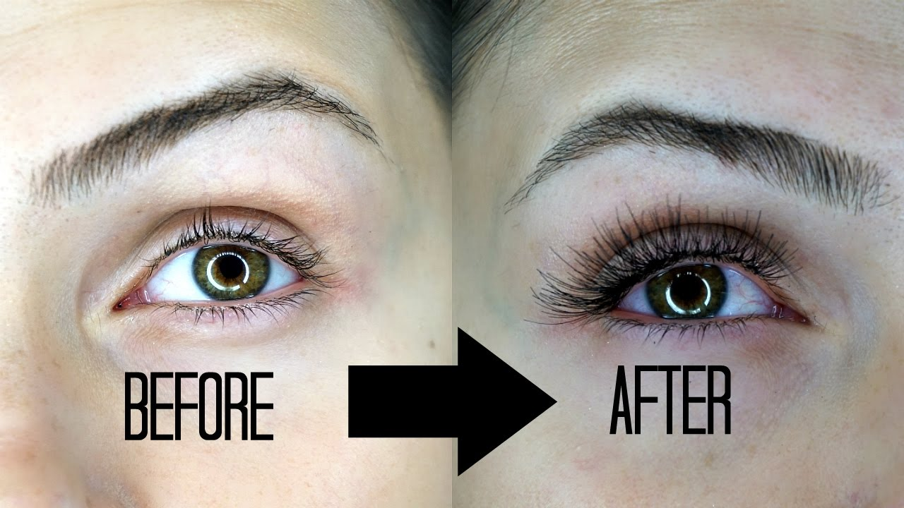 0a750351137 DIY Eyelash Extensions (UNDER $10!!!) - YouTube