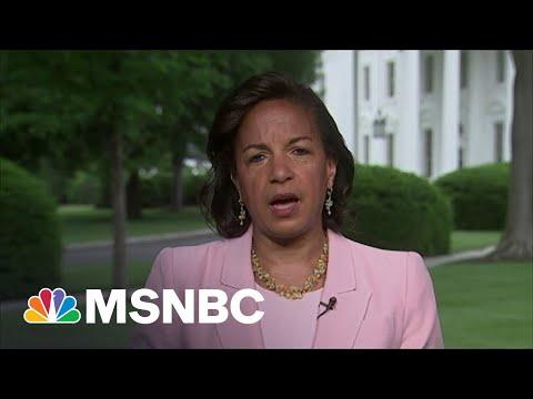 Susan Rice: We Must Condemn 'Horrific' Antisemitic Attacks   MSNBC