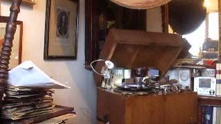 """Ungarische Tanz in D Moll no 2"" (Brahms) played by Herr Dr Joseph Joachim HMV D88"