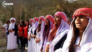 Yezidi women plead for their imprisoned sisters on Women's Day