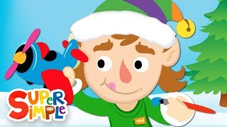 10 little elves   christmas song for kids   super simple songs