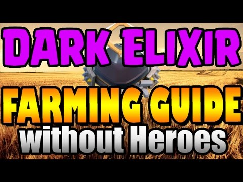 Clash of Clans: HOW TO FARM DE WITHOUT HEROES at TH9