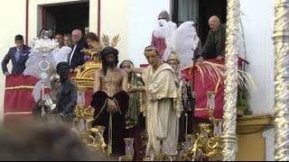 La Presentación al Pueblo de San Benito en el Muro de los Navarros 2015. Semana Santa de Sevilla