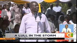 Raila and Ruto share podium in Kisumu