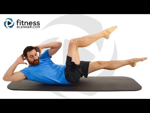 30 Minute HIIT and Abs Workout with Warm Up and Cool Down (no equipment)