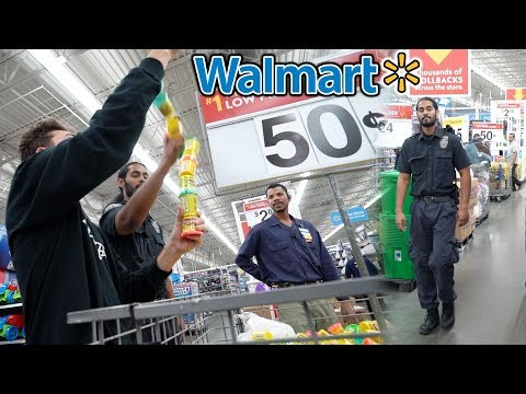 DUMBEST WAY TO GET KICKED OUT OF WALMART... (CRAZY TRYING TO GET KICKED OUT OF WALMART CHALLENGE)