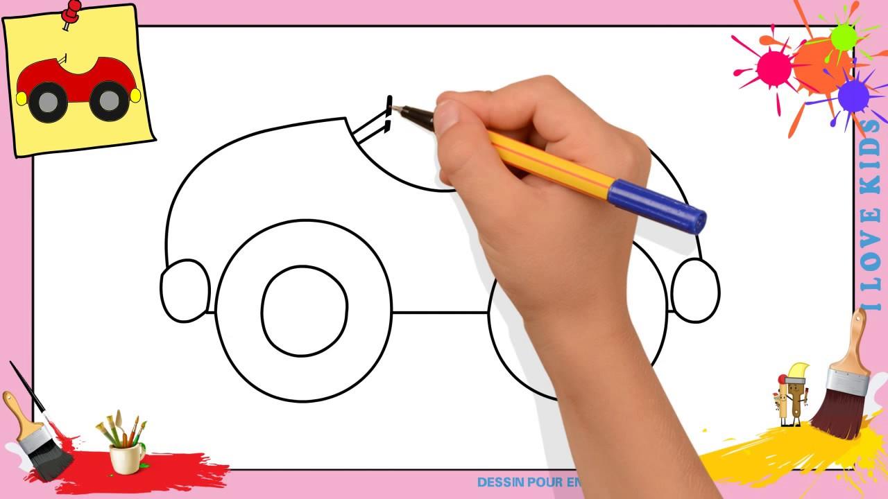 Dessin voiture 2 comment dessiner une voiture facilement - Voiture simple a dessiner ...
