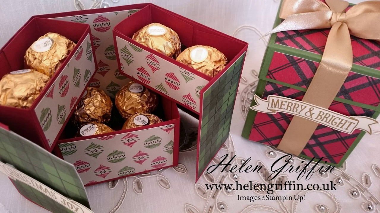 12th Day Of Christmas 2016 Ferrero Rocher Stacked Gift