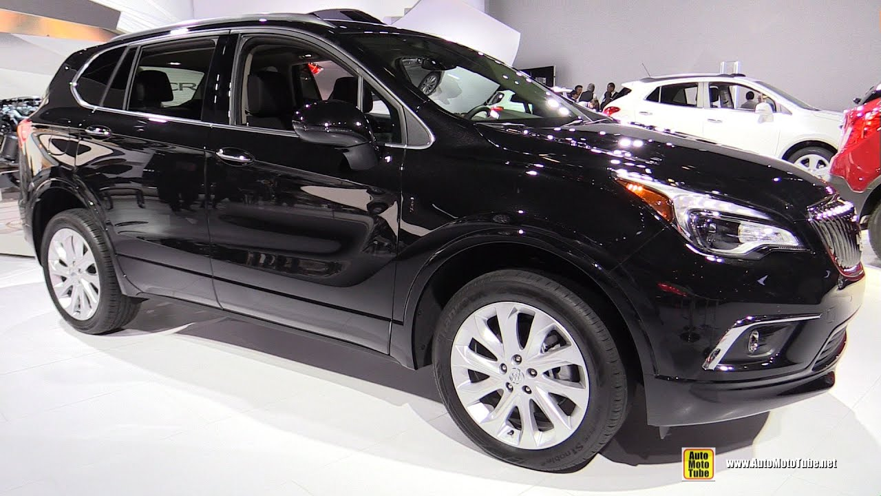 2017 Buick Envision T AWD Exterior and Interior Walkaround Debut
