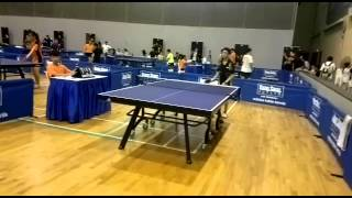 Singapore Adidas Table Tennis Competition 2014