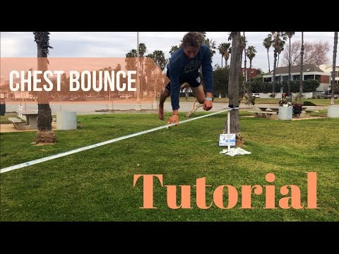 Slackline Tutorial: Chest Bounce