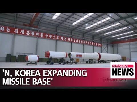 North Korea continuing to upgrade key long-range missile base: CNN