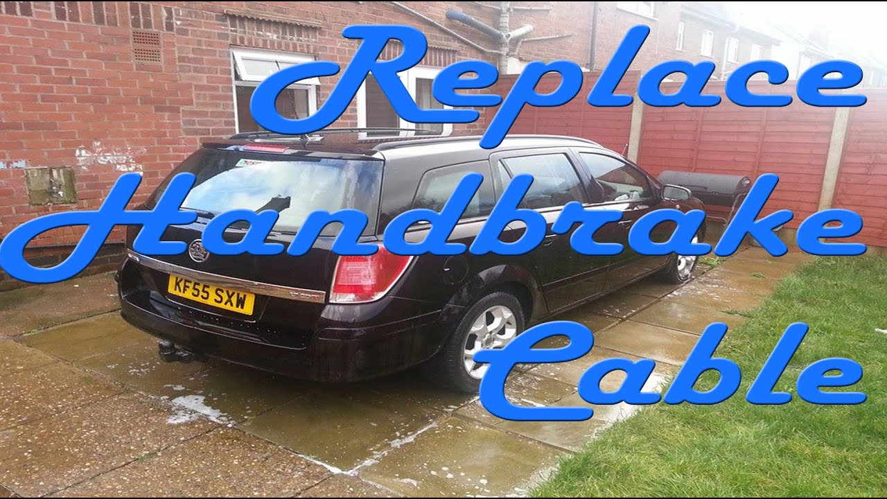 How to change your handbrake cable youtube asfbconference2016 Choice Image