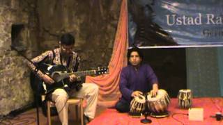 Indian Classical music on Acoustic Guitar - Raga Todi