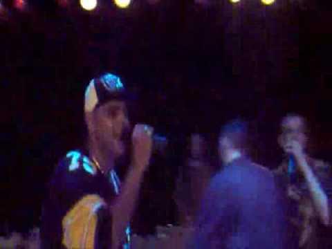 El Banat Gens Na3em - Egy Rap School live @ Sa2yet El Sawy 6-8-2009