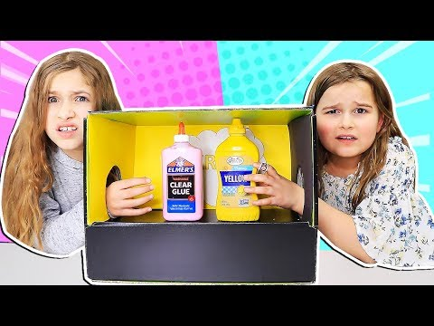 REAL vs PRANK What's In The Box Slime Challenge!!   JKrew