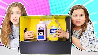 REAL vs PRANK What's In The Box Slime Challenge!! | JKrew