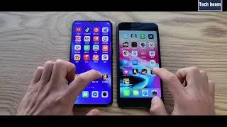 Oppo R17 Pro vs iPhone 8 Plus Speedtest