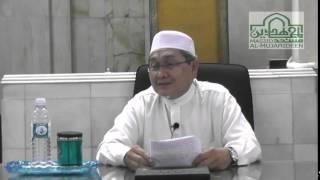 Ustaz Abdul Hamid Ridhwan - Nasihat Lokman al Hakim kepada anaknya - 12 April 2015