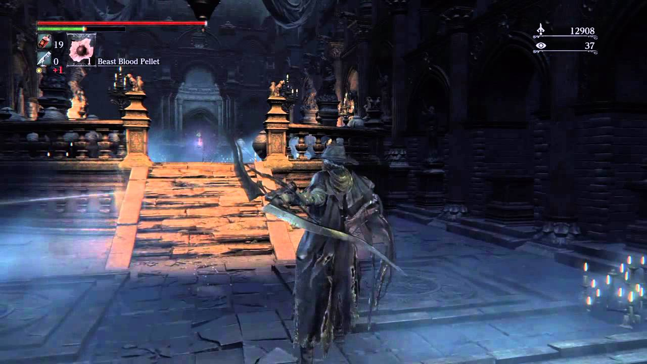 bloodborne the old hunters simon s bowblade weapon youtube