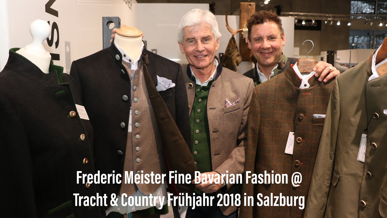 Frederic Meisner Fine Bavarian Fashion At Tracht Country Frühjahr