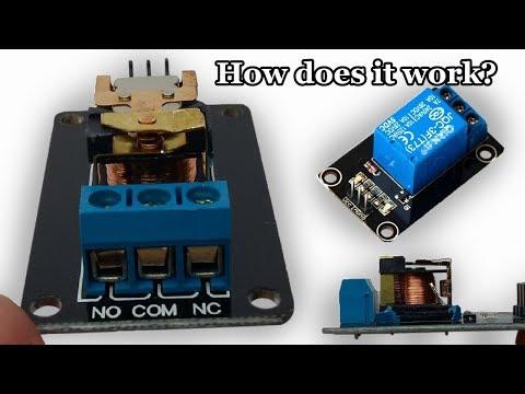 How Srd 05vdc Sl C Works Inside View