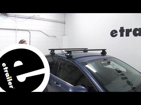 Etrailer | Thule WingBar Evo Crossbars Installation - 2018 Ford Fusion