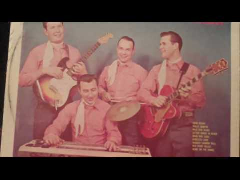 Rare Country Western Swing LARRY CALDWELL & SPEEDY PRICE & SADDLE TRAMPS