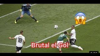Gol de Hirving Lozano México vs Alemania mundial 2018