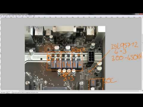 """PCB Breakdown: Asrock """"6""""+3 phase AM4 VRM used on the AB350M Pro 4, AB350 Pro 4 and AB350 Gaming K4"""