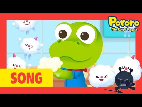 Wash your hands song | Let's wash hands with Pororo! | Good habits nursery rhymes | Pororo songs