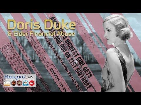 Doris Duke   Victim of Elder Financial Abuse