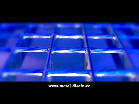 """Metal Disain"" The real production of Steel Gratings in Estonia, Tallinn"