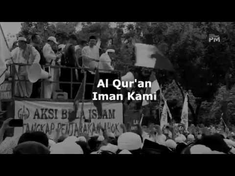 LAGU AKSI BELA ISLAM~AL QUR'AN IMAN KAMI