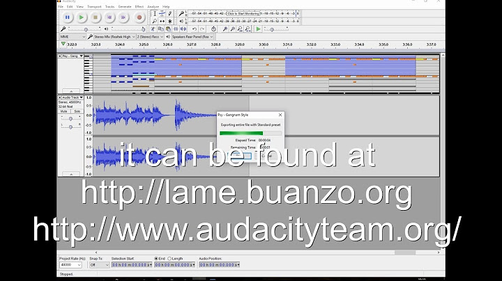 audacity convert midi to wav or mp3 for free complete tutorial change midi songs into wav files