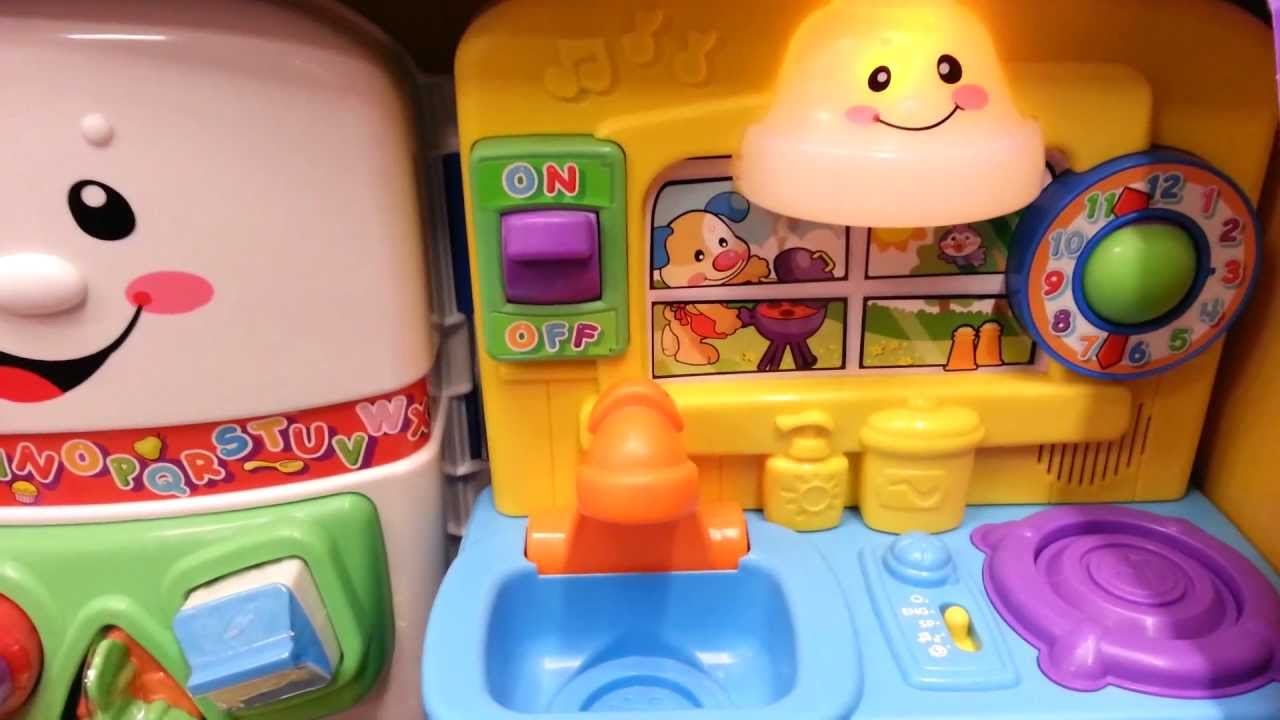 Play Kitchen For Toddlers Hood Fisher-price Laugh And Learn: Learning - Youtube
