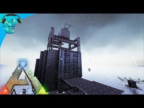 World War ARK - Raft Raiding the Iceberg 2 Men 1 Base Style! 2 Men 1 RAFT! E24 Ark Survival Evolved