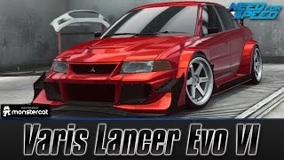 Need For Speed No Limits: Mitsubishi Lancer Evo VI (Customization + MAXXED OUT)