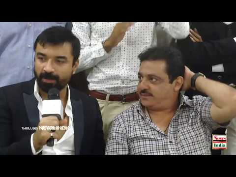 Ajaz Khan Attended A Movie Audition Of Virat The Hero In Bangalore