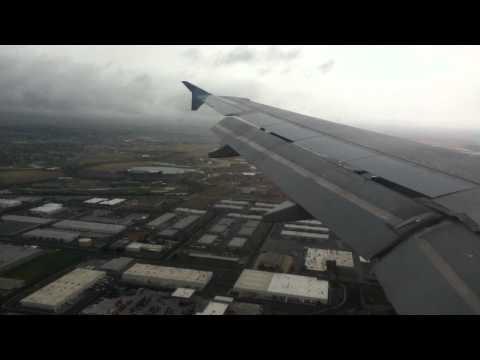HD Delta Airlines A320 Landing in SLC/Salt Lake City International Airport