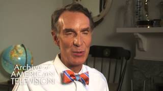 "Bill Nye on the theme song to ""Bill Nye, The Science Guy"" - EMMYTVLEGENDS.ORG"