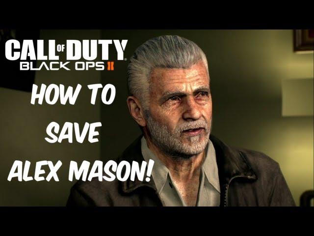 Call of Duty: Black Ops II - Frank Woods & David Mason at Alex ...