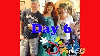 Walt Disney World Vacation Vlogs #6 Meeting Princess Ariel, Snow White, Aurora, Belle, Cinderella