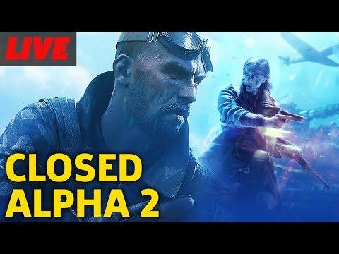 Battlefield 5 Closed Alpha Round 2 Gameplay Live