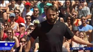 Hoopfest dunk contest semifinals